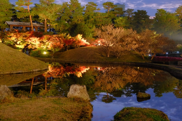 梅小路公園紅葉まつり