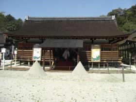 上賀茂神社細殿(拝殿)・上賀茂神社見どころ