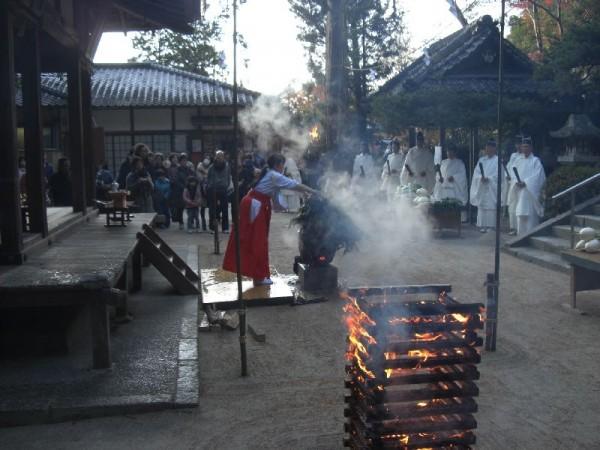鷺森神社火焚祭