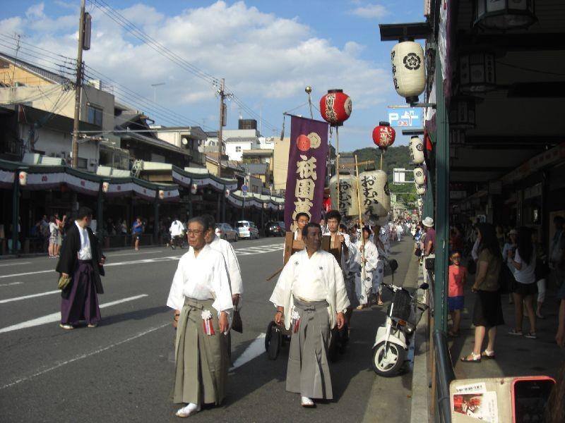 祇園祭お迎え提灯