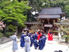 川上大神宮やすらい祭