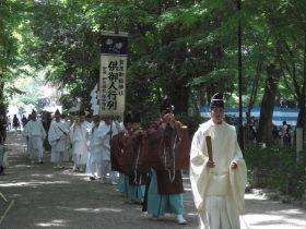 堅田供御人行列鮒奉献奉告祭
